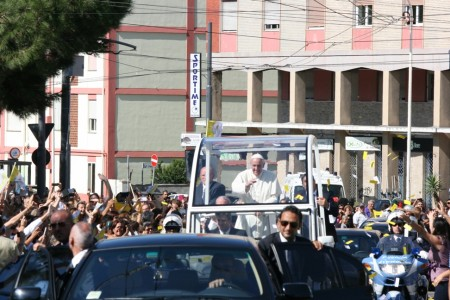 22.09.2013 -- Visita di Papa Francesco a Cagliari