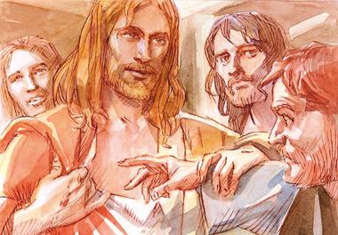 12.04.2015 - OMELIA DELLA II DOMENICA DI PASQUA (o della Divina Misericordia)