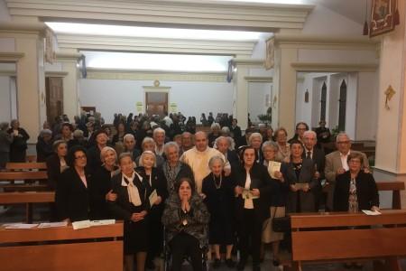 28.10.2017 GIORNATA DEL MALATO E DELL'ANZIANO -UNZIONE DEGLI INFERMI