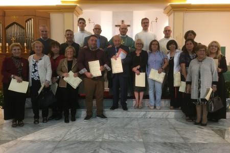 14.10.2017- INSEDIAMENTO DEL NUOVO CONSIGLIO PASTORALE