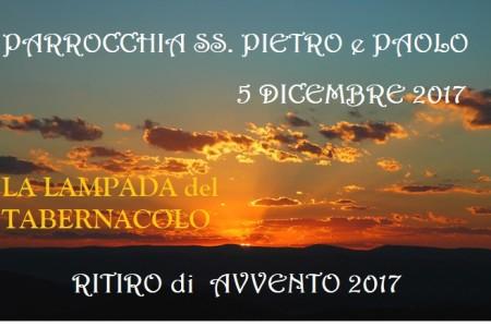 5 DICEMBRE 2017. RITIRO DI AVVENTO omelia alla S. Messa e 1-2 parte del ritiro