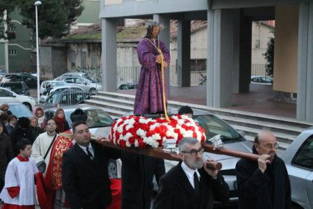 2018 27.3 MARTEDI' SANTO PROCESSIONE NAZZARENO E ANNUNCIO SETTIMANA SANTA