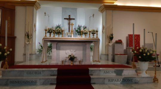 2019 FESTA DI CRISTO RE  XV ADORAZIONE QUOT. E XVII CONSACRAZIONE CHIESA