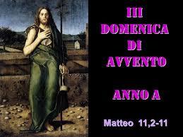 2019 OMELIA DELLA III DI AVVENTO A