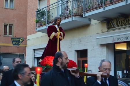 31.03.2015 - FOTO DELLA PROCESSIONE DEL SIMULACRO DI GESÙ NAZARENO NEL MARTEDÌ SANTO
