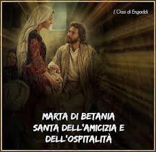 2019 OMELIA NELLA FESTA DI S. MARTA