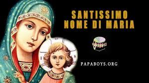 2019 OMELIA NELLA FESTA DEL SS.MO NOME DI MARIA